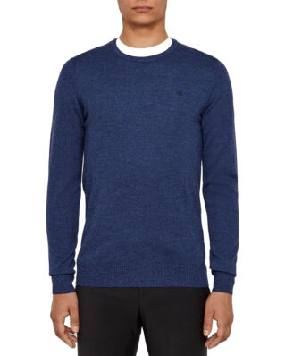 J.Lindeberg Lyle-True Merino Blue Mouliné-Import FW19