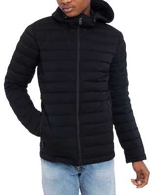 J.Lindeberg M Ease Hooded Liner-JL Down Black