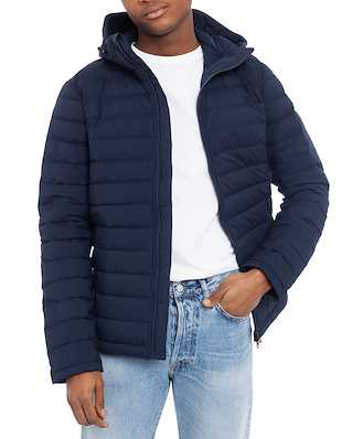 J.Lindeberg M Ease Hooded Liner-JL Down JL Navy