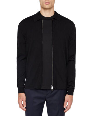 J.Lindeberg Nyle-Perfect Merino Black-Import FW19