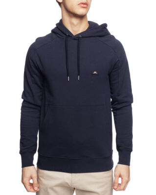 J.Lindeberg Throw Hood Ring Loop Sweat JL Navy