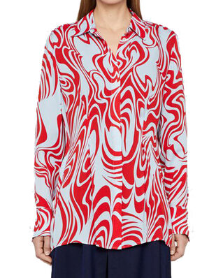 J.Lindeberg Eddie-Semi Transparent Red Swirl