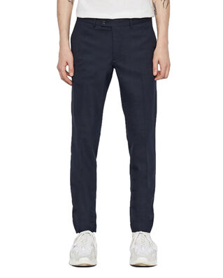 J.Lindeberg Grant-Cotton linen stretch Jl Navy