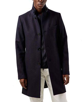 J.Lindeberg Holger Compact Melton coat JL Navy