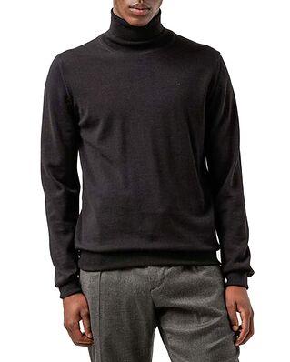 J.Lindeberg Lyd Merino Turtleneck Sweater Black
