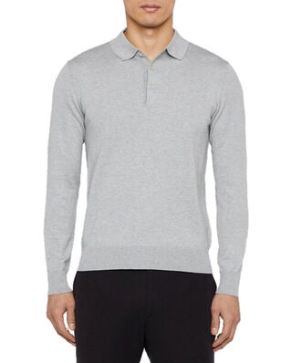 J.Lindeberg Rowan-Cotton Silk Lt Grey Melange