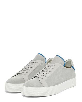 J.Lindeberg Sneaker LT-QP Suede Stone Grey