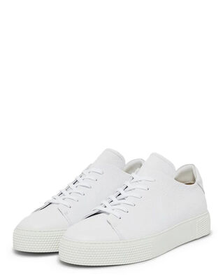 J.Lindeberg Sneaker LT Clean-Leather Grain White
