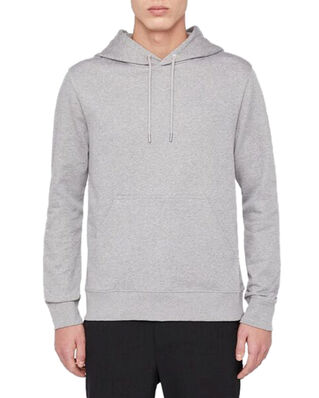 J.Lindeberg Throw Hood-Clean sweat Grey Melange