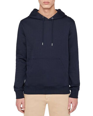 J.Lindeberg Throw Hood-Clean sweat Jl Navy