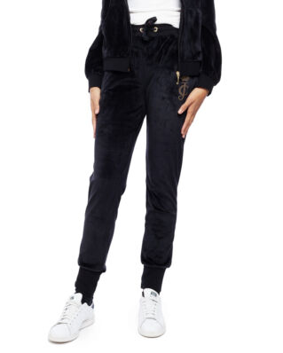 Juicy Couture Junior Velour Jogger Jet Black