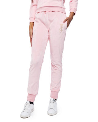 Juicy Couture Junior Velour Jogger Rose Quartz