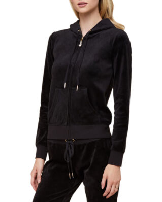 Juicy Couture Luxe Velour Robertson Jacket Pitch Black