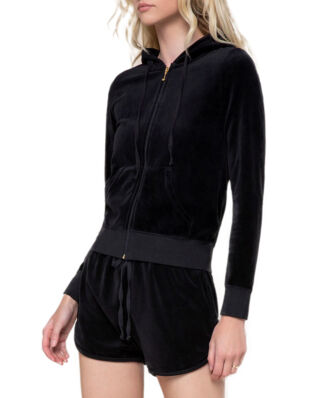 Juicy Couture Velour Robertson Jacket Pitch Black