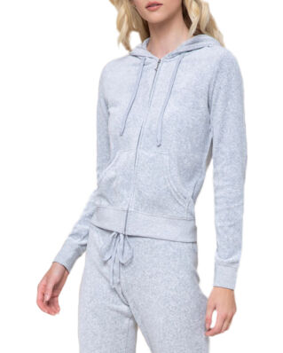Juicy Couture Velour Robertson Jacket Silver Lining