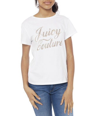 Juicy Couture Junior Branded Tee Bright White