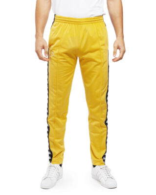 Kappa Astoria Snap Slim Pant Yellow Mustard/Black