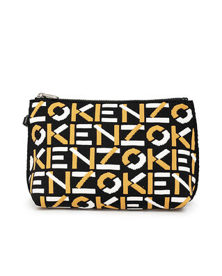 Kenzo Gusset Pouch Golden Yellow