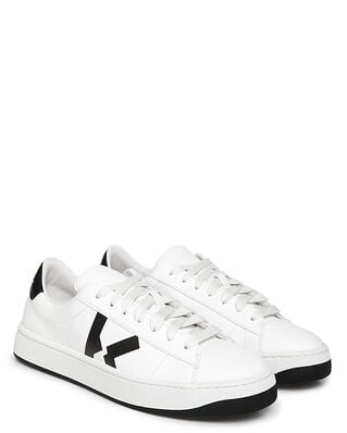 Kenzo Kenzo Kourt Lace Up Sneakers White