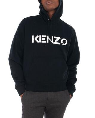 Kenzo Kenzo Logo Classic Hoodie Black