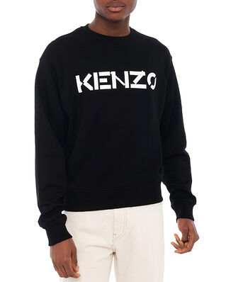 Kenzo Men's Knitted Cotton Pullover Black