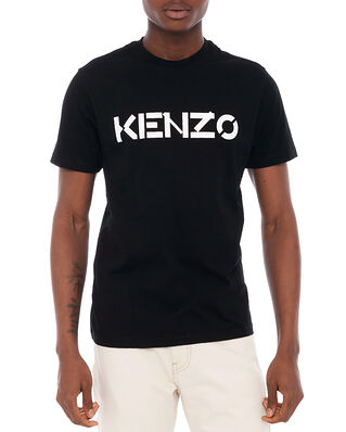 Kenzo Men's Knitted Cotton T-Shirt Black