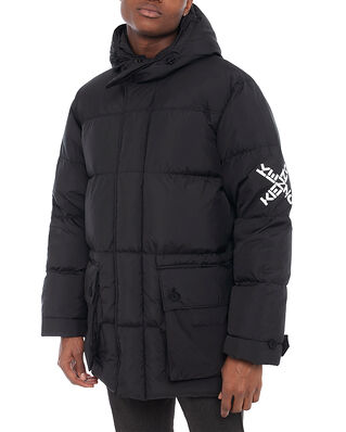 Kenzo Kenzo Sport Long Down Parka Black