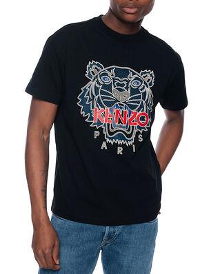 Kenzo Silicone Tiger Skate Jersey Black