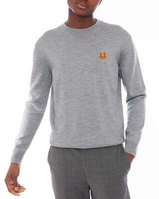 Kenzo Tiger Crest Crew Neck Dove Grey