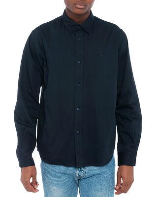 Kenzo Tiger Crest Shirt Navy Blue