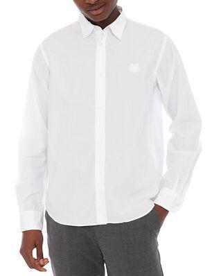 Kenzo Men's Woven Cotton Shirt White