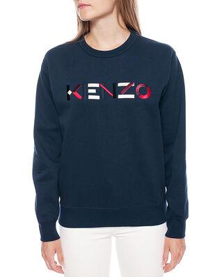 Kenzo Classic Fit Sw Kenzo Logo Navy Blue
