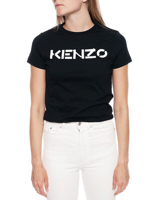 Kenzo Women's Knitted Cotton T-Shirt Black