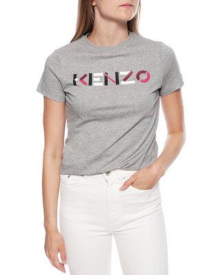 Kenzo Classic Fit T-Shirt Kenzo Logo Pearl Grey