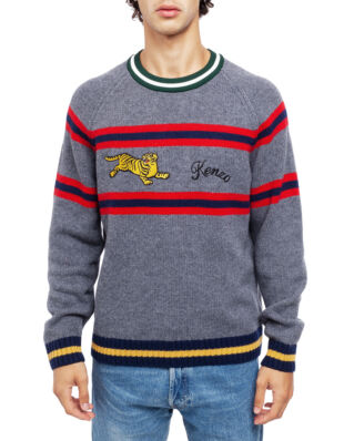 Kenzo 'Jumping Tiger' Jumper Pale Grey