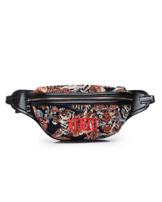 Kenzo Jungle 'Flying Tiger' Belt Bag Multicolor