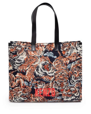 Kenzo Jungle 'Flying Tiger' Tote Bag Multicolor