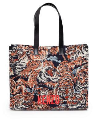 Kenzo Jungle 'Flying Tiger' Tote Bag Multicolor