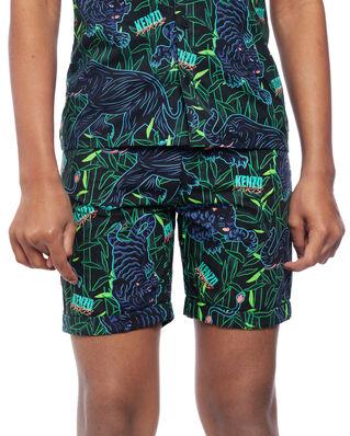 Kenzo Junior Disco Jungle Shorts Black