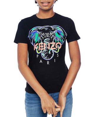 Kenzo Junior Disco Jungle T-shirt Black