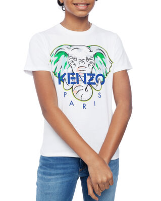 Kenzo Junior Disco Jungle T-shirt Optic White