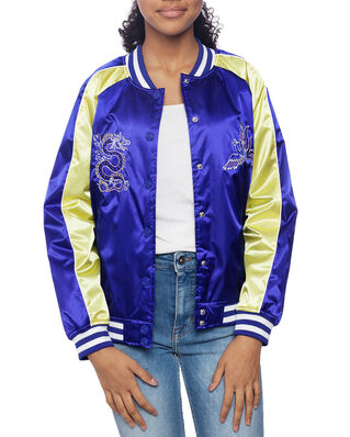 Kenzo Junior Phoenix Celebration Teddy Jacket Royal Blue
