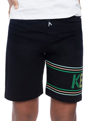 Kenzo Junior Sport Line Logo Shorts Black
