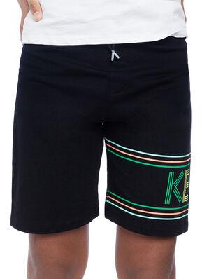 Kenzo Junior Sport Line Logo Shorts Black