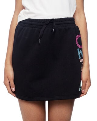 Kenzo Junior Sport Line Logo Skirt Black