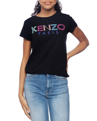 Kenzo Junior Sport Line Logo T-shirt Black
