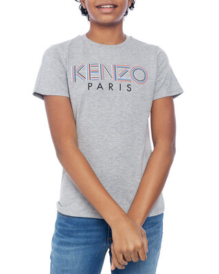 Kenzo Junior Sport Line Logo T-shirt Marl Grey