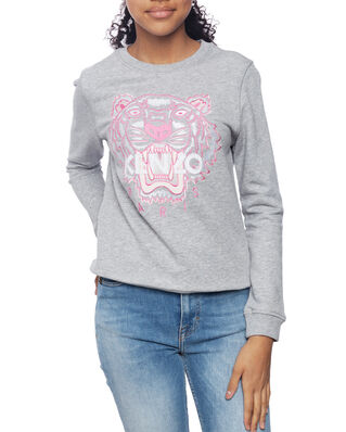 Kenzo Junior Tiger Sweatshirt Marl Grey