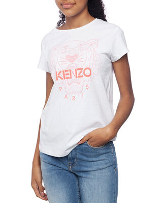 Kenzo Junior Tiger T-shirt Optic White