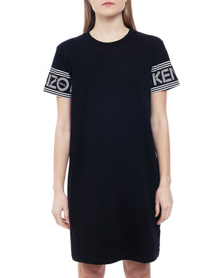Kenzo Kenzo Logo T-shirt Dress Black